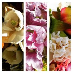 """""""Florals on our newsfeed this morning!  #Regram from left @grandiflora_fragrance, @zac_posen, @deborahfulsang"""""""