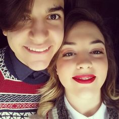 Me and My Brother! ♡ lovely days Christmastime!