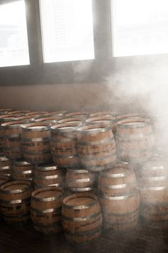 Barrel room fog! Keeps the dry Nevada air from stealing all our whiskey.
