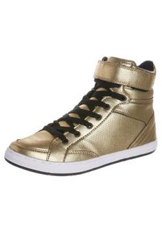 Sneakers high - guld