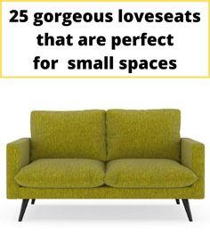 Green two-seater sofa