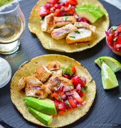 I first tasted Tequila-Lime Chicken in a local farmer market food fair. We loved the flavor and I decided to sure try it at home. I am always finding different ways to make chicken delicious and ap. Greek Chicken Kabobs, Grilled Chicken Tacos, Lime Chicken Tacos, Greek Chicken Recipes, Grilled Chicken Recipes, Greek Recipes, Mexican Food Recipes, Healthy Grilling Recipes, Kabob Recipes