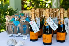 Classic wedding favours