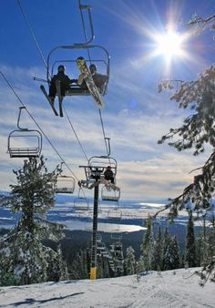 Brundage Mountain Ski Resort, McCall, Idaho #WhereWillYouGoNext #GoKEFI #PNW