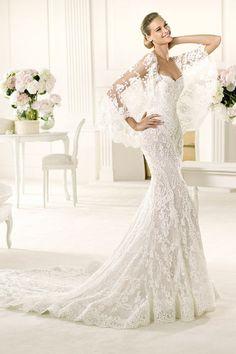 Pronovias Wedding Dress Wedding Dresses Mermaid Lace Elegant Gown
