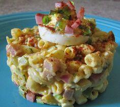 Deviled Egg Macaroni Pasta Salad