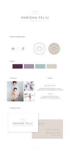 Diseño de identidad corporativa para Mariona Feliu. Psicología integrativa por Blanco Ruso (www.blancoruso.com)