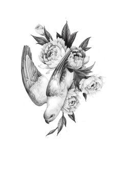 masa__island masa_tattooer drawing, illustration, tattoo, t Vintage Flower Tattoo, Flower Tattoo Designs, Dream Tattoos, Body Art Tattoos, Tattoo Sketches, Tattoo Drawings, Colour Pencil Shading, Island Tattoo, Minimal Tattoo Design