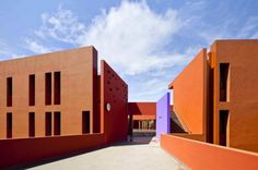 Terra Cotta-Colored High School in Senegal Only Needs A/C 2 Months a Year | Inhabitat - Sustainable Design Innovation, Eco Architecture, Green Building