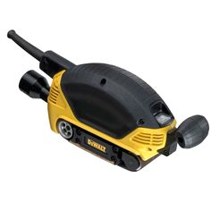 The Dewalt Compact Belt Sander is lightweight and portable with excellent everyday features. This top performing sander also offers a detachable secondary handle for control in extended applications and a dust sealed construction to maximise durability Sds Hammer Drill, Dewalt Tools, Professional Tools, Cool Tools, Power Tools, Hand Tools, Compact, Belt, Dopp Kit