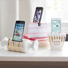 Ceramic Sweets Phone Docks These Dessert Phone Holders Feature the Likeness of Cakes and Candy