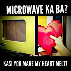 Pinoy PickUp Lines Tagalog Quotes Funny, Pinoy Quotes, Pick Up Lines Cheesy, Pick Up Lines Funny, Hugot Quotes, Hugot Lines, Line Love, Heart Melting, Love Notes