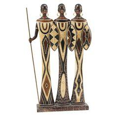 African Indoor Statues