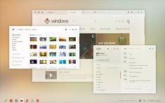 Windows Desktop UI Concept