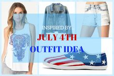 Inspired By...July 4th Outfit Idea      July 4th is a big day for our American friends. Officially known as the Independence Day of the United States, it's a holiday celebrating the commemoration of the Declaration of Independence as this is the day ...