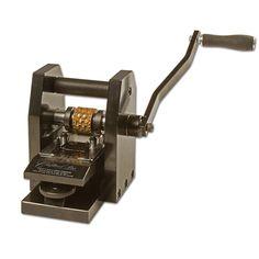 Speedy's Belt/Strap Embossing Machine