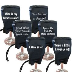 Woozie Wine Glass Koozie - The Chick's Pack of Funny Phrases Woozie http://www.amazon.com/dp/B004KADQAW/ref=cm_sw_r_pi_dp_lizbwb18HWV9E