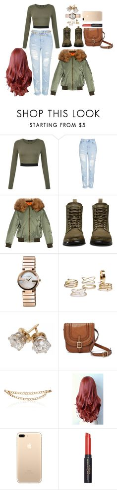 """""""Untitled #2613"""" by mrkr-lawson ❤ liked on Polyvore featuring Topshop, Mr & Mrs Italy, Dr. Martens, Gucci, FOSSIL and Maison Mayle"""