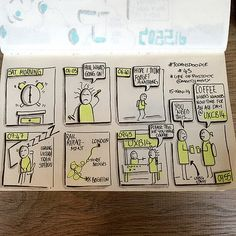 #TodaysDoodle No. 45 Coffee Required #uxcb14 | ©ALL RIGHTS R… | Flickr