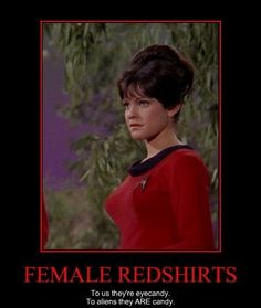 Female RedShirt Demotivation