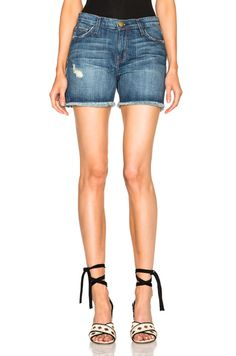 Vintage Straight Cut Off Shorts