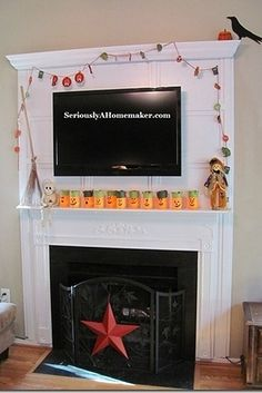 How to Hide TV Cords in Trim Work. TV cords hidden in fireplace trim. Hide Tv Cords, Hiding Cords, Hide Cables, Ikea Entertainment Center, Fireplace Trim, Fireplace Ideas, Fireplace Remodel, Fireplace Cover, Built In Bathtub