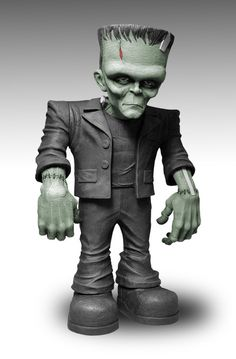"Upcoming Frankenstein figure from Mezco Toys. This 18inch Monster Scale Frankenstein features eight points of articulation.  Each Frankenstein is packaged in his own collector friendly display box and ships in November 2012.  The figure will go on sale this November and we are being told that the suggested retail price is $99. ""Frankenstein may have more friends in 2013!"""