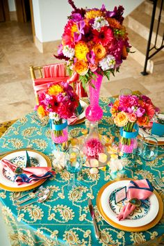Teal, Gold, and Coral Summertime THE TEAM  Coordinator Events Above & Beyond   Florist The Flower Girls   Photographer Dapper Images   Location Sunset Cliffs Estate   Linens A Perfect Table   Table & Chairs Event Party Rentals  China & Glassware Events Above & Beyond  Stationery Invitation Factory  Favors Events Above & Beyond    Chargers Event Party Rentals