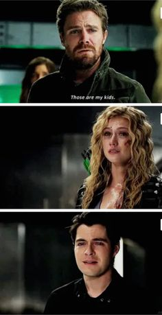 When a mysterious new Deathstroke appears in Star City, Oliver and Team Arrow insist on taking down this villain themselves. Meanwhile, reeling from the loss of one of their own, the future Team Arrow figures out a new way to try and stop JJ. Oliver Queen Arrow, Arrow Oliver And Felicity, Arrow Funny, Arrow Memes, The Cw Shows, Dc Tv Shows, Batwoman, Disney Shirts, Katherine Mcnamara