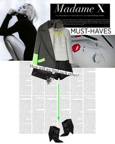 """M.me X"" by glamlicious-y ❤ liked on Polyvore"