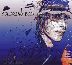 PSYCHÉ Coloring book Limited édition      PRE order #IAMX  VeronicaInDream