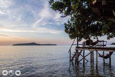 Coral Beach on Koh Ta Kiev Island in Cambodia