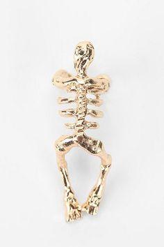 Skeletal Cuff Earring