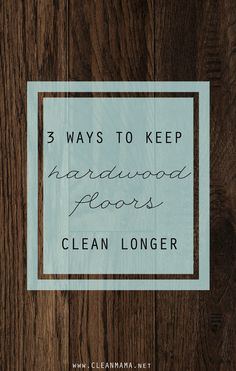 One of your most-asked questions is all about how to make hardwood floors look and feel clean.  If you have hardwood floors you know that when they're clean and shiny they're beautiful and maybe even bring a smile to your face.  But if they're grungy and dirty and sticky, they're frustrating and they beg to... (read more...)