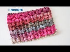 Ideas Crochet Cowl Puff Stitch Scarf Tutorial For 2019 Puff Stitch Crochet, Quick Crochet, Chunky Crochet, Crochet Basics, Crochet For Beginners, Crochet Shrugs, Simple Crochet, Free Crochet, Poncho Knitting Patterns