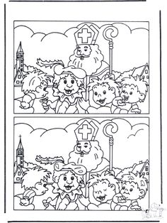 Look for differences 1 - Printable Dr Seuss Coloring Pages, Minion Coloring Pages, Easter Egg Coloring Pages, Bird Coloring Pages, Truck Coloring Pages, Christmas Coloring Pages, Coloring Books, Halloween Color By Number, St Nicholas Day