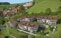 STOMEO Architektur Visualisierung - Zürich Style At Home, 3d Modelle, Mansions, House Styles, Home Decor, Birds Eye View, Architecture Visualization, Human Settlement, Real Estates