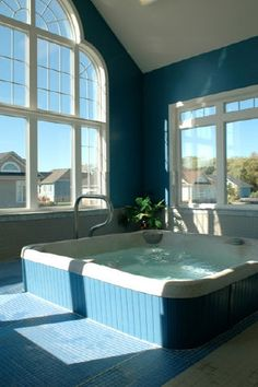 Hot tub over the bay Blue Shores Collingwood Ontario, Tub, Community, Outdoor Decor, Home Decor, Bath Tub, Decoration Home, Room Decor, Soaking Tubs