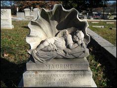 Maurine - Infant grave, Oakland Cemetery, Atlanta, GA