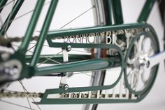 Art deco town bike detail - so beautiful!