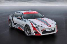 Toyota GT86 WRC car in development