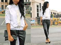 Two-toned (by Sharena C.) http://lookbook.nu/look/3840575-Two-toned