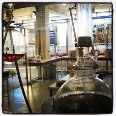 Inside the perfume lab at fragonard in grasse
