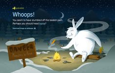 #clever #creative #Designs #error #Page #404 #website #examples