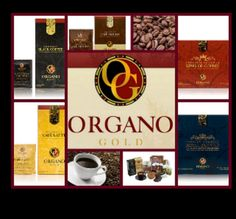 Organo Gold Healthy Coffee, Tea and Hot Chocolate