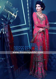 Tena Durrani Bridal Sharara Pakistani Dresses Online  Buy Online Tena Durrani Bridal Sharara in Affordable Prices. Pakistani Dresses Online Collection on Dress Republic. by www.dressrepublic.com