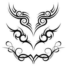 #Tattoo #TattooIdeas #TribalTattoos #TattooDesigns Tribal Tattoo Designs, Tribal Back Tattoos, Tribal Shoulder Tattoos, Eagle Tattoos, Tattoos Skull, Star Tattoos, Celtic Tattoos, Lower Back Tattoos, Maori Tattoos