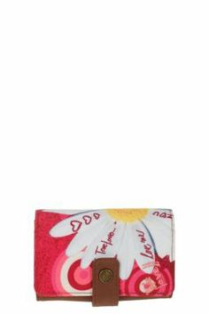 Desigual women's Tropicana purse with snap fastening. It has sections for coins and cards. Online Fashion Boutique, Online Fashion Stores, Little Marcel, Dress Up Day, Women's Accessories, Toddler Girl, Purses And Bags, Sunglasses Case, Cool Style