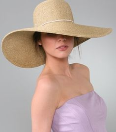 I am getting one of these hats..I just adore them..the bigger the better:)
