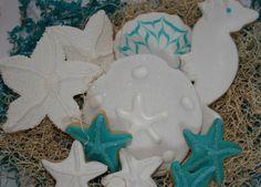 beach themed cookies | Beach Themed Cookies | Flickr - Photo Sharing!
